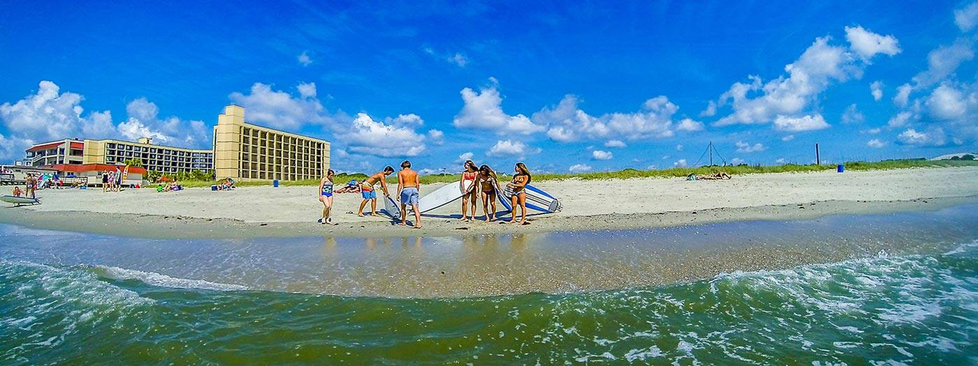 Myrtle Beach Surf lessons and Board Rentals
